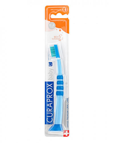 Baby Toothbrush, blue-green