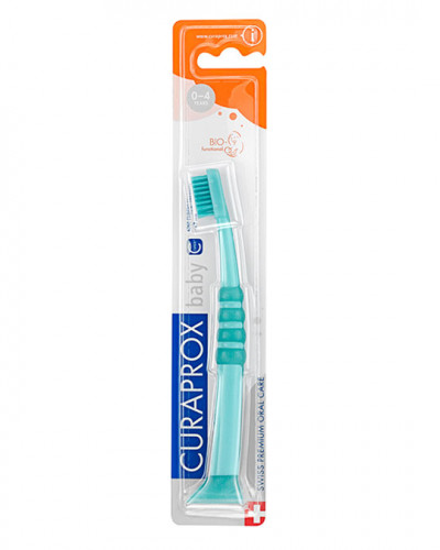 Baby Toothbrush, green-green